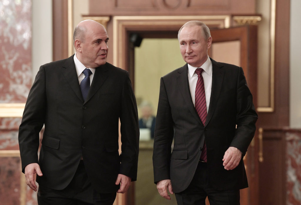 Putin Names New Cabinet As Key Members Of Russian Government Stay Pbs Newshour