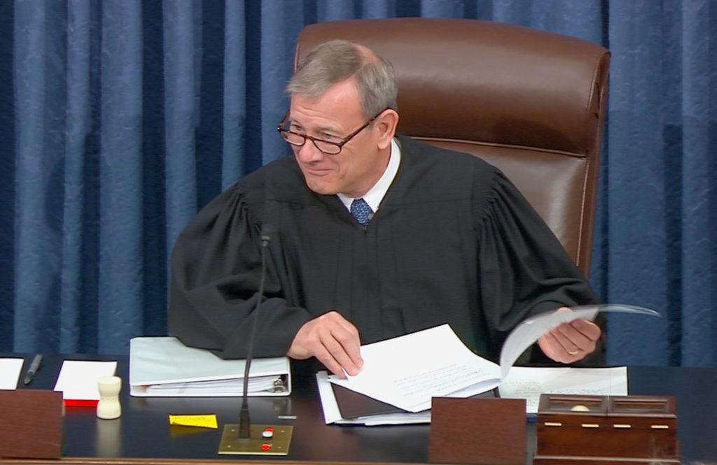 Tweets urge calls to Supreme Court for fair Senate trial