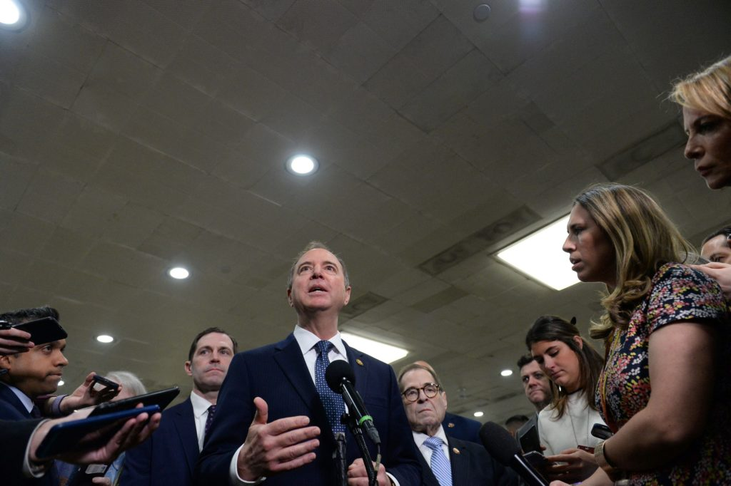 Schiff takes conciliatory tone after Roberts' admonishment