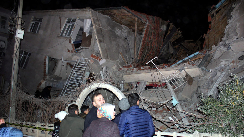 At least 18 dead, hundreds injured as earthquake hits eastern Turkey