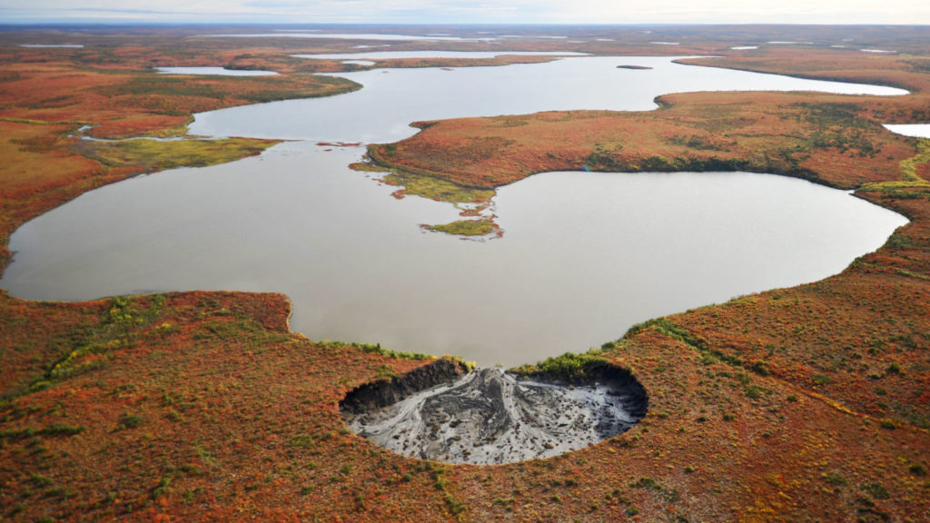 How thawing permafrost is transforming the Arctic