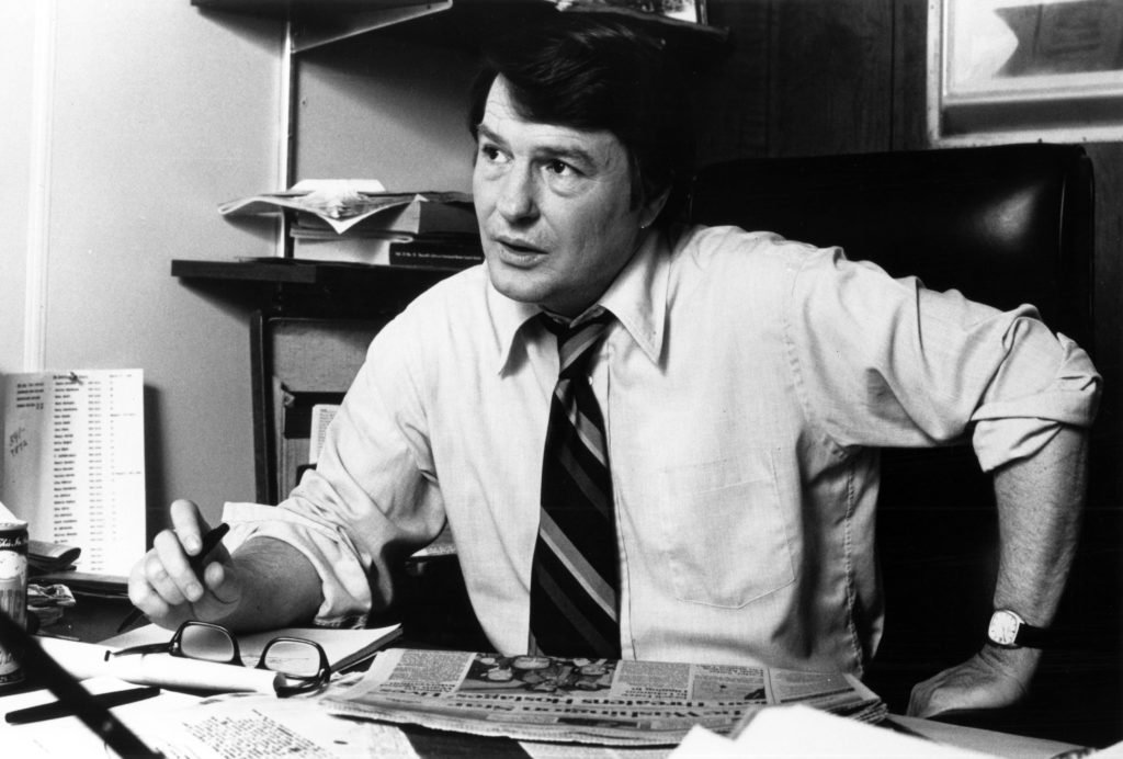 Jim Lehrer, who anchored the PBS NewsHour for 36 years, has died at…