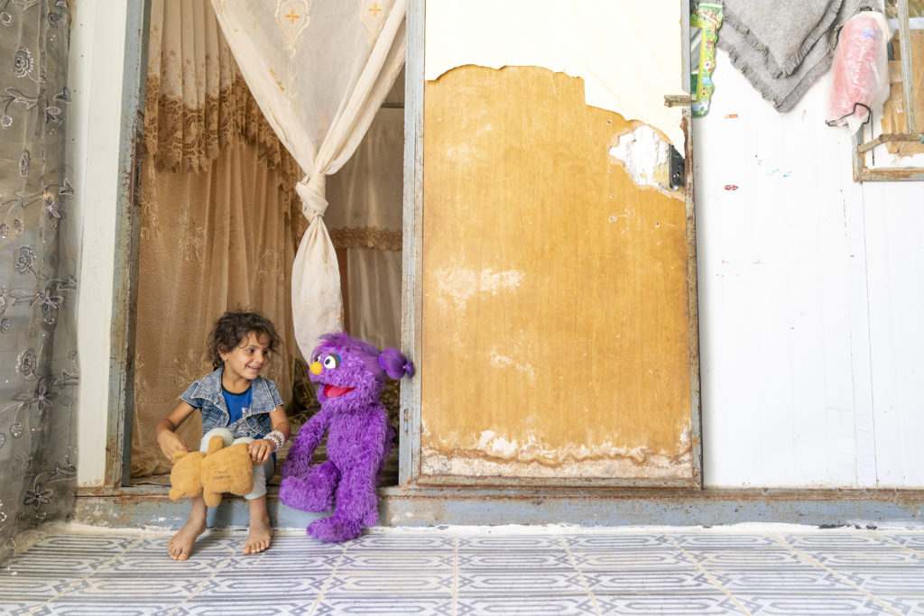 Sesame Street launches TV show for children affected by Syrian civil war