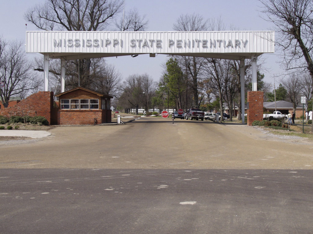 The entrance of the Mississippi State Penitentiary is seen in an undated photo provided by the Mississippi Department of Corrections in Parchman, Mississippi. The Mississippi corrections department announced it will no longer allow conjugal visits as of Feb. 1, ending a century-old program in the first U.S. state to sanction sex for prisoners. Photo courtesy: Mississippi Department of Corrections/Handout via Reuters