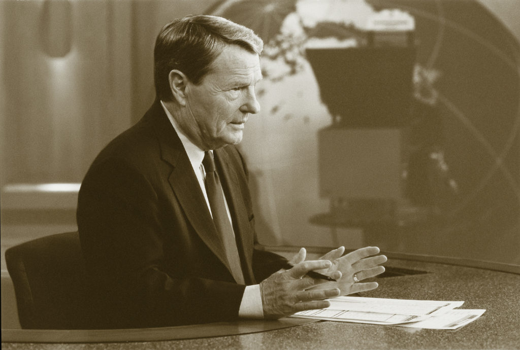 Jim Lehrer, in his own words