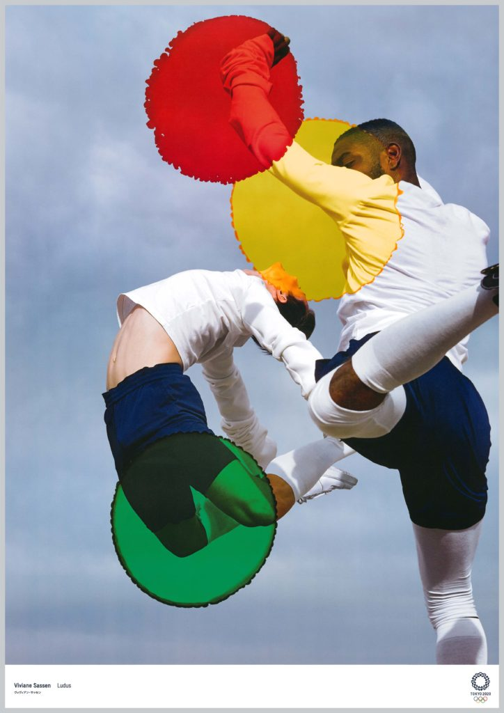 """Ludus"" by Viviane Sassen. Image courtesy of The Tokyo Organising Committee of the Olympic and Paralympic Games"