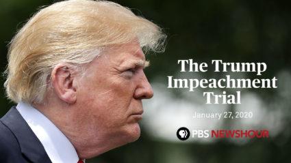 Impeachment Trial Guide Guide Pbs Newshour