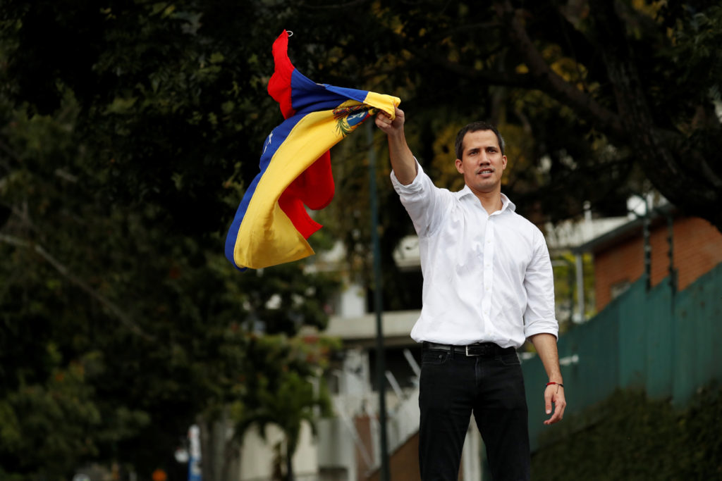 Venezuela's Juan Guaido on Maduro, U.S. sanctions and 'generalized anarchy'
