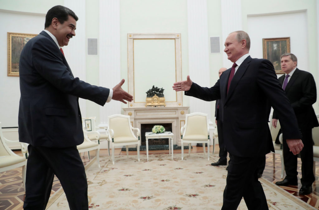 Ending Putin's support of Venezuela no easy feat for U.S.