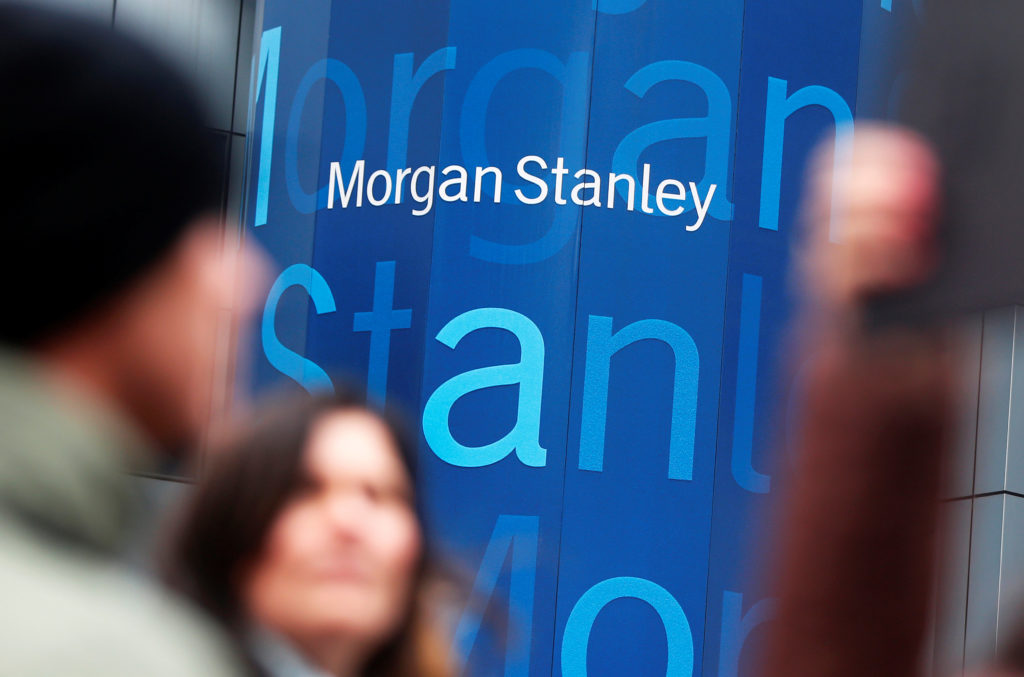 The headquarters of Morgan Stanley is seen in New York January 9, 2…