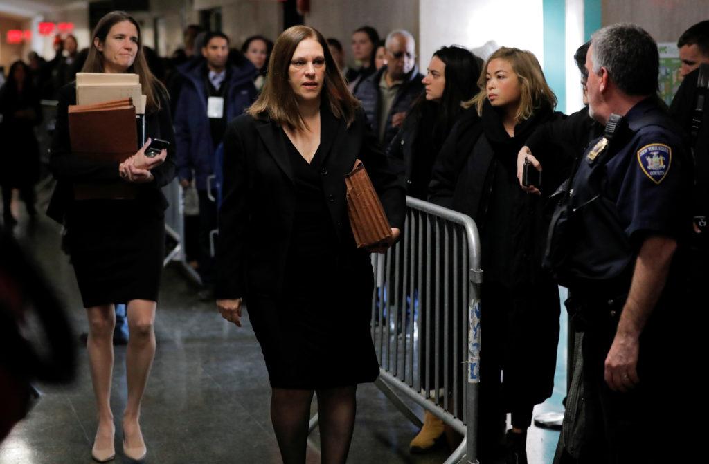 Prosecutor Joan Illuzzi-Orbon arrives at New York Criminal Court fo…