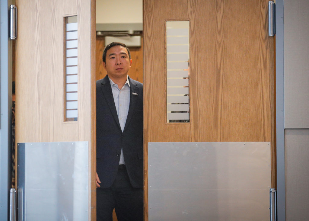WATCH: Andrew Yang drops out of 2020 presidential race