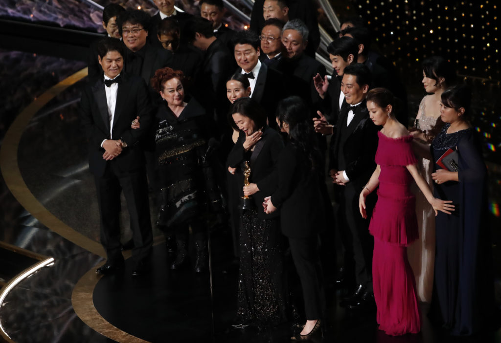 'Parasite' becomes first non-English language film to win best picture Oscar