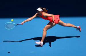 FILE PHOTO: Tennis - Australian Open - First Round - Melbourne Park, Melbourne, Australia - January 21, 2020 Russia's Maria Sharapova in action during the match against Croatia's Donna Vekic REUTERS/Kai Pfaffenbach/File Photo
