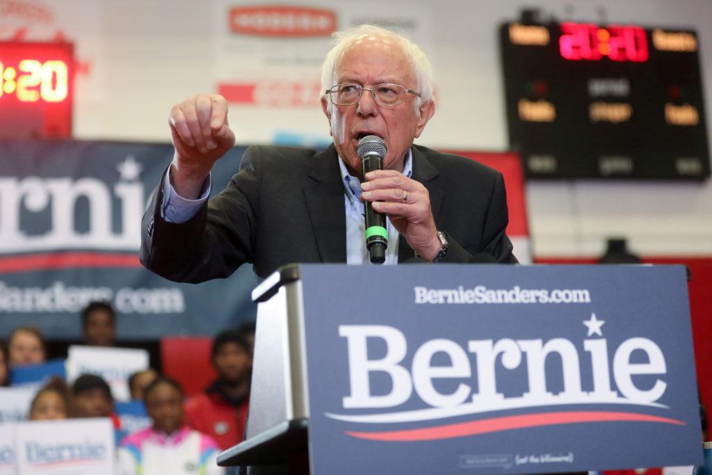 Democratic 2020 U.S. presidential candidate Senator Bernie Sanders …
