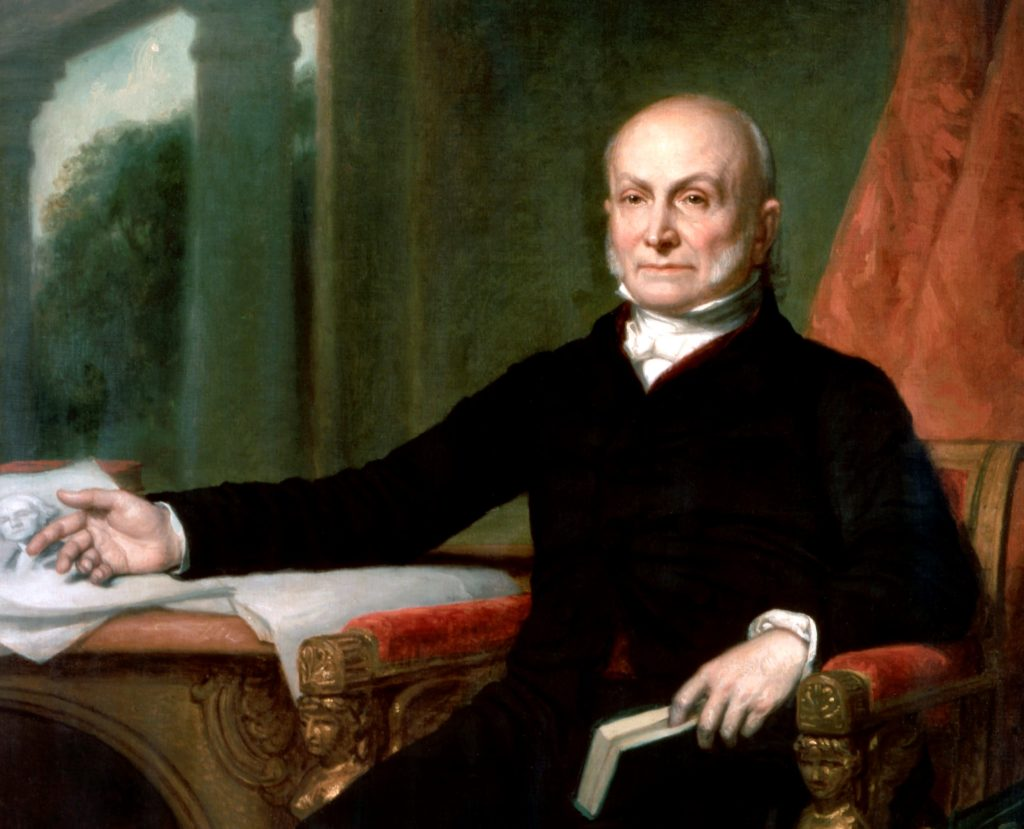 The dramatic death of a former president at the U.S. Capitol