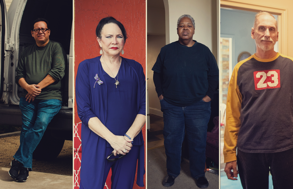 Long-term survivors of HIV/AIDS reflect on what they've witnessed and endured