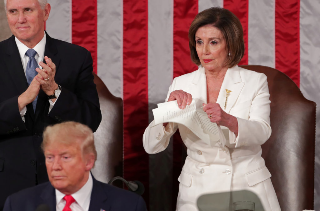 AP FACT CHECK: Trump, Dems and the state of disunion