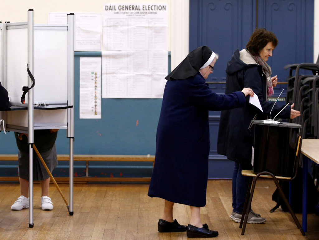 Ireland votes: Irish election day in pictures