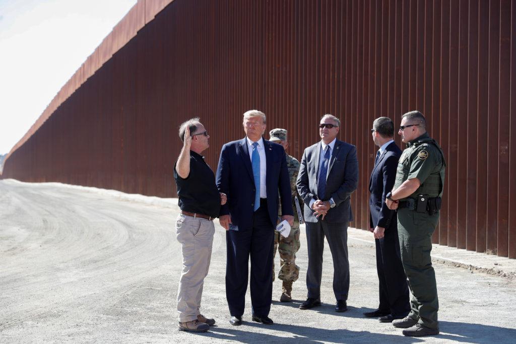 AP FACT CHECK: Trump's wall claim is beyond 'redemption'
