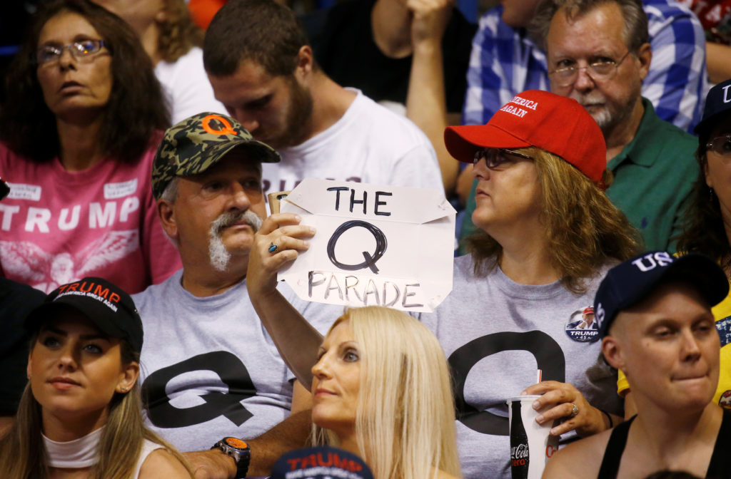 'QAnon' conspiracy theory creeps into mainstream politics