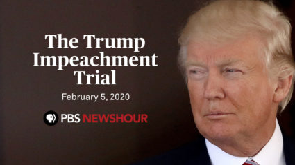 WATCH: The final day of Trump's impeachment trial — Feb. 5
