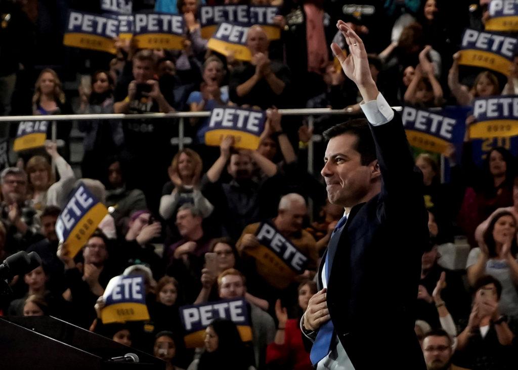 Democratic 2020 U.S. presidential candidate former South Bend, Indi…