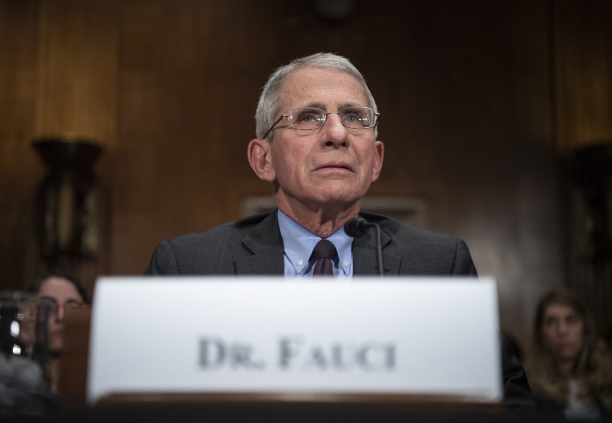 Mar 3, 2020; Washington, DC, USA; Dr. Anthony Fauci, director, National Institute Of Allergy And Infectious Diseases, National Institutes of Health testifies before the U.S. Senate Committee on Health, Education, Labor and Pensions hearing on how the U.S. Is Responding to COVID-19, the Novel Coronavirus on March 3, 2020 in Washington, DC. Mandatory Credit: Jack Gruber-USA TODAY