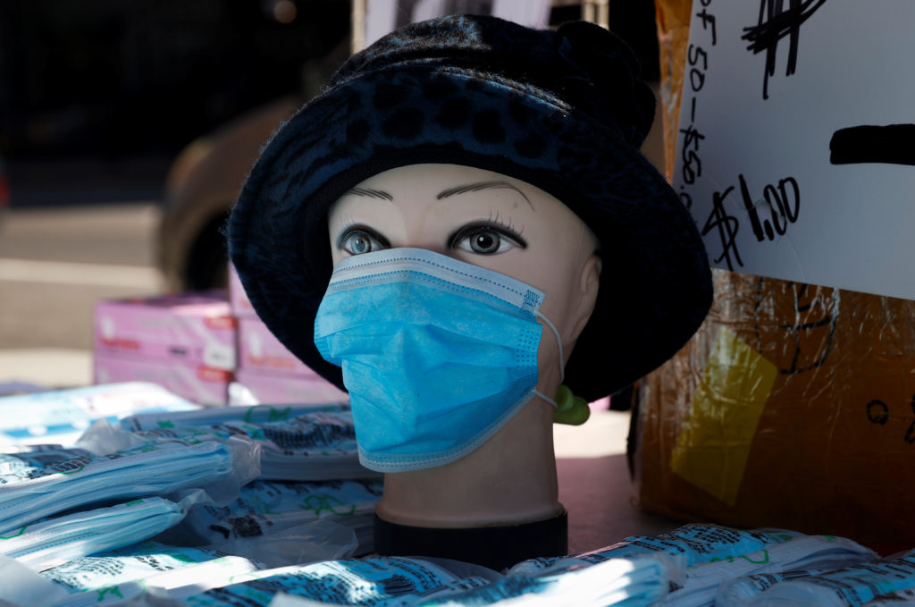 Should you wear mask in public if not sick with coronavirus?