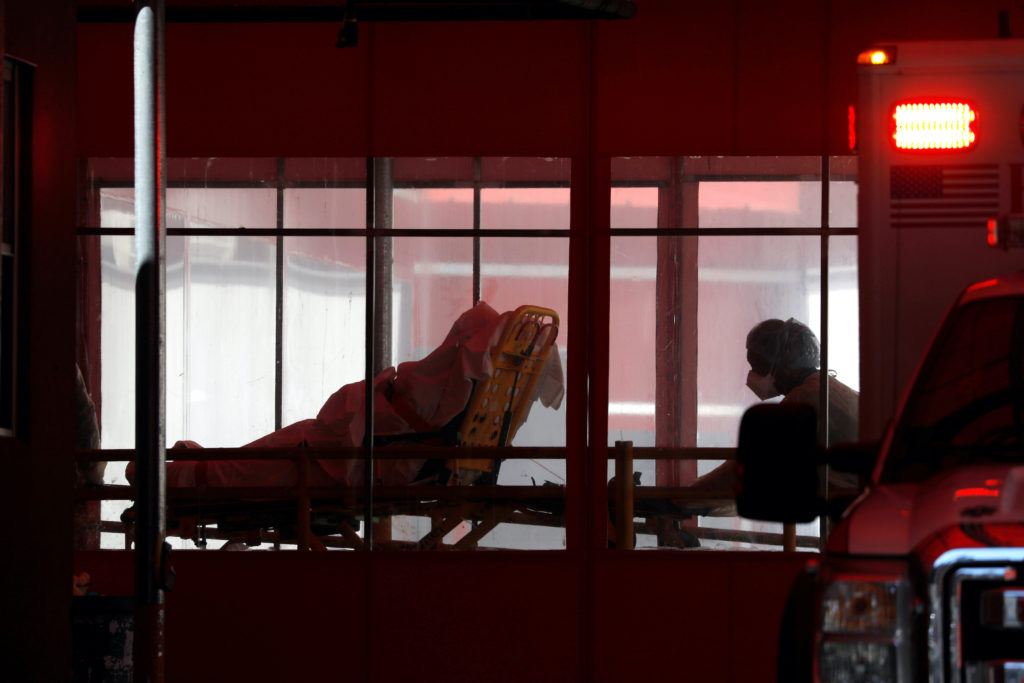 'Everyone is afraid' as Illinois virus cases spike