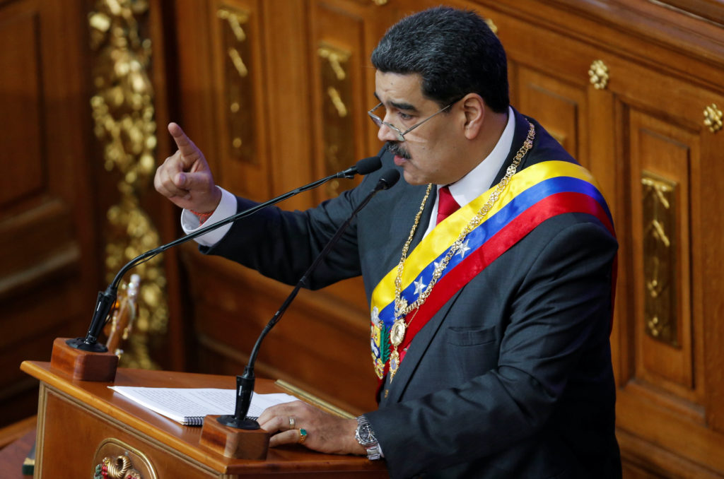 News Wrap: Maduro slams Trump after being indicted on drug-trafficking charges