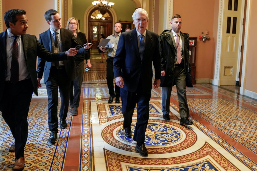 Where Senate negotiations on the next COVID-19 relief bill stand