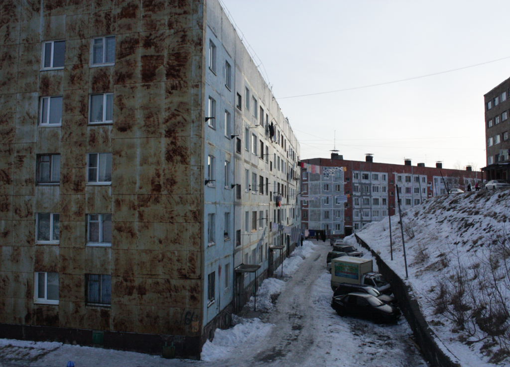 A street in Petropavlovsk-Kamchatsky. Photo courtesy the author