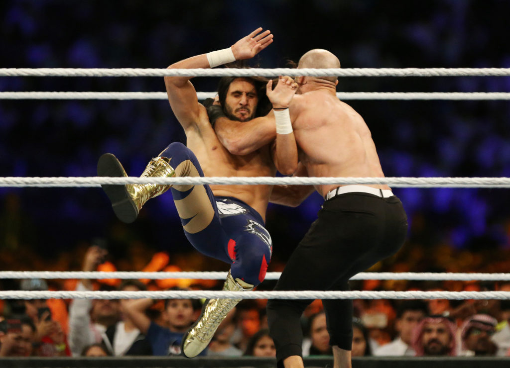 Pro Wrestling Considered Essential Under Florida Governor S Order Pbs Newshour