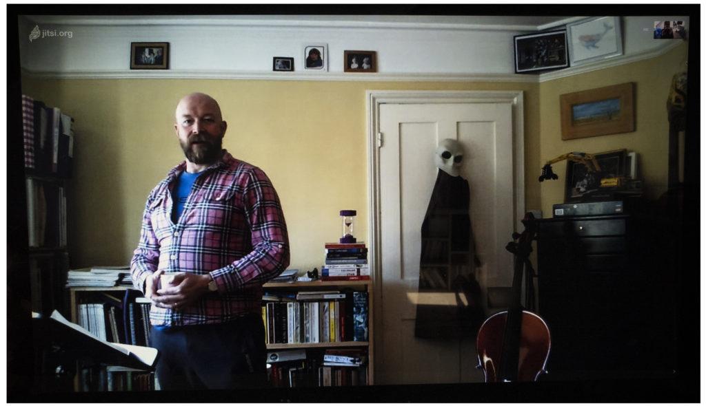 Portrait of Dan, an opera singer. Photo by Fran Monks