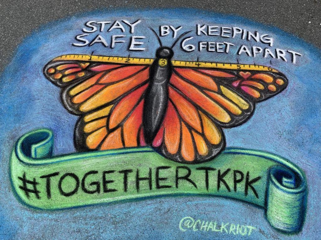 Artist Chelsea Ritter-Soronen of Chalk Riot has been drawing pavement murals in and around Takoma Park, Maryland. The mura...