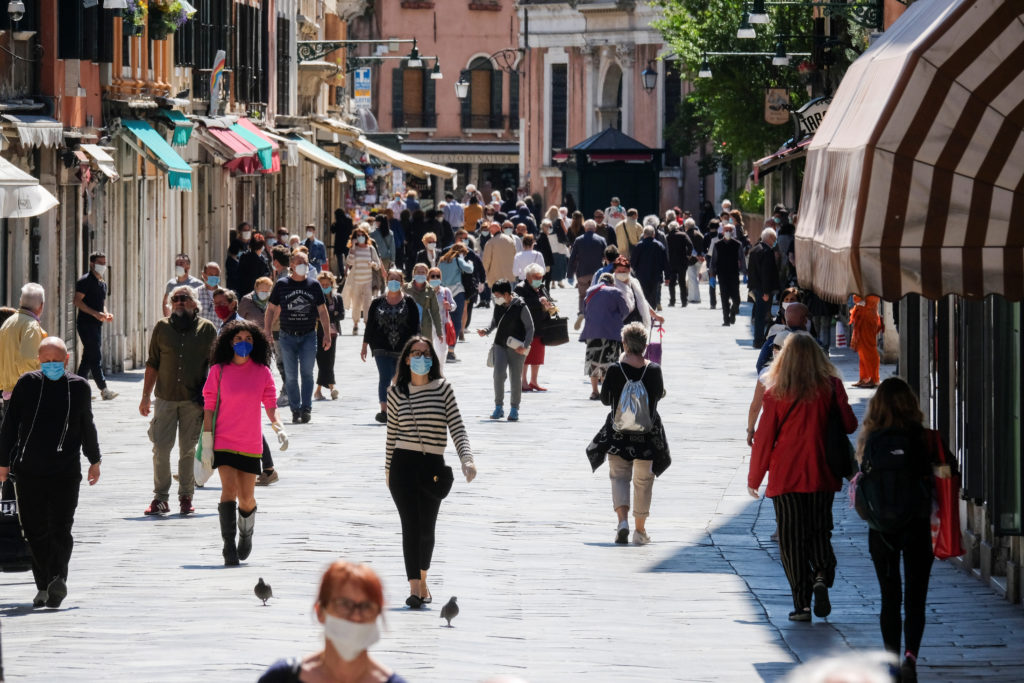 More movement is seen in the streets as the country begins slightly relaxing restrictions, as it prepares a staged end to ...