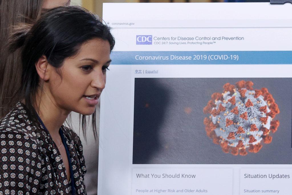 Pence press secretary returns to work after coronavirus recovery