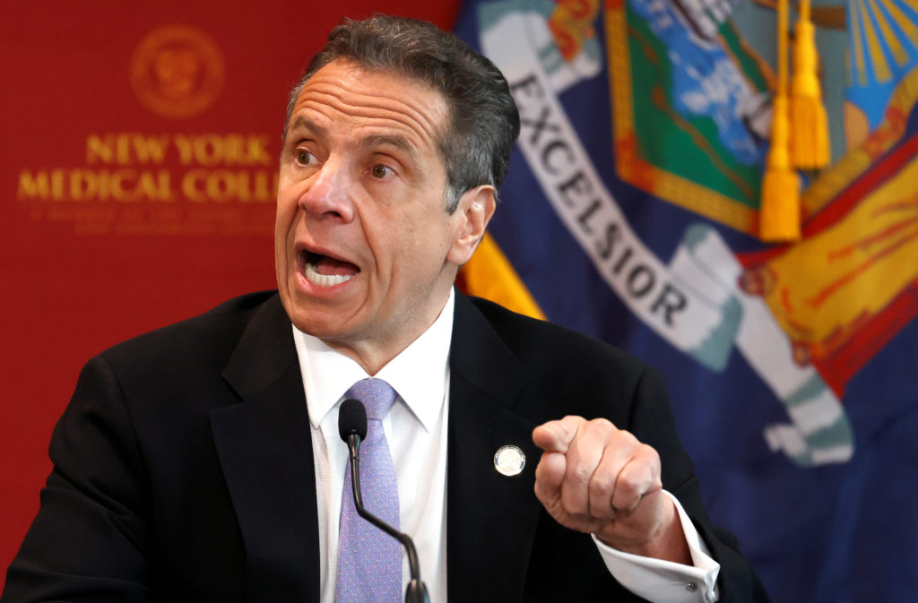WATCH: Gov. Cuomo says several counties north of NYC have met criteria to reopen