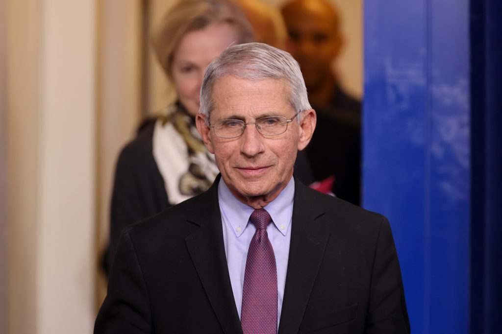 Dr. Fauci on the 'terrible hit' of 100,000 deaths and being realistic about the fall