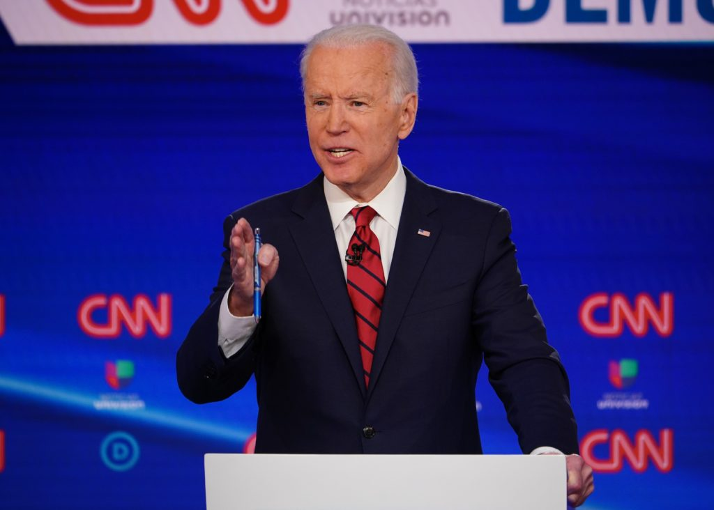 Biden doesn't have the delegates to clinch the nomination. That could change June 2.