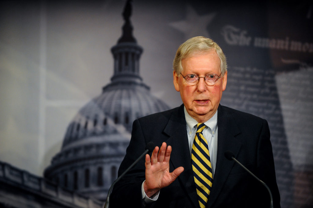 McConnell proposes bill to combat doping in horse racing