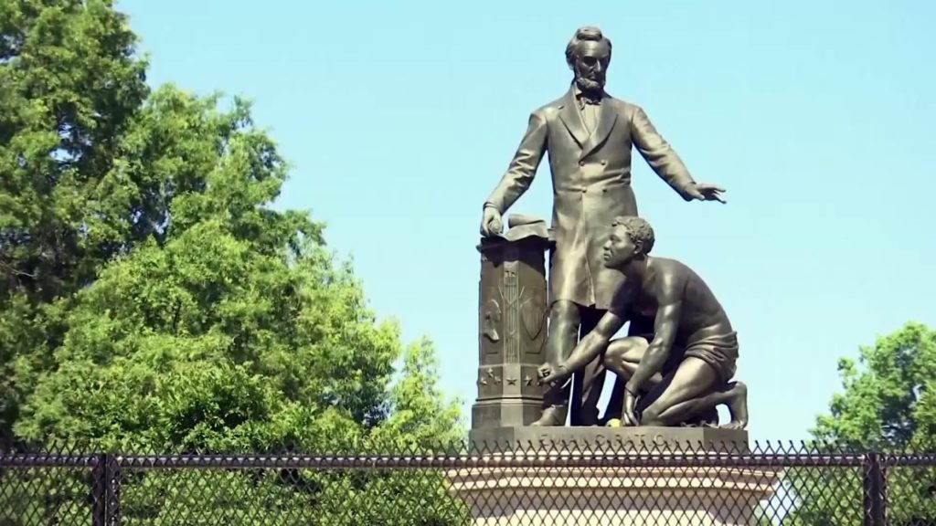 How Black Americans see a statue memorializing Lincoln in different ways