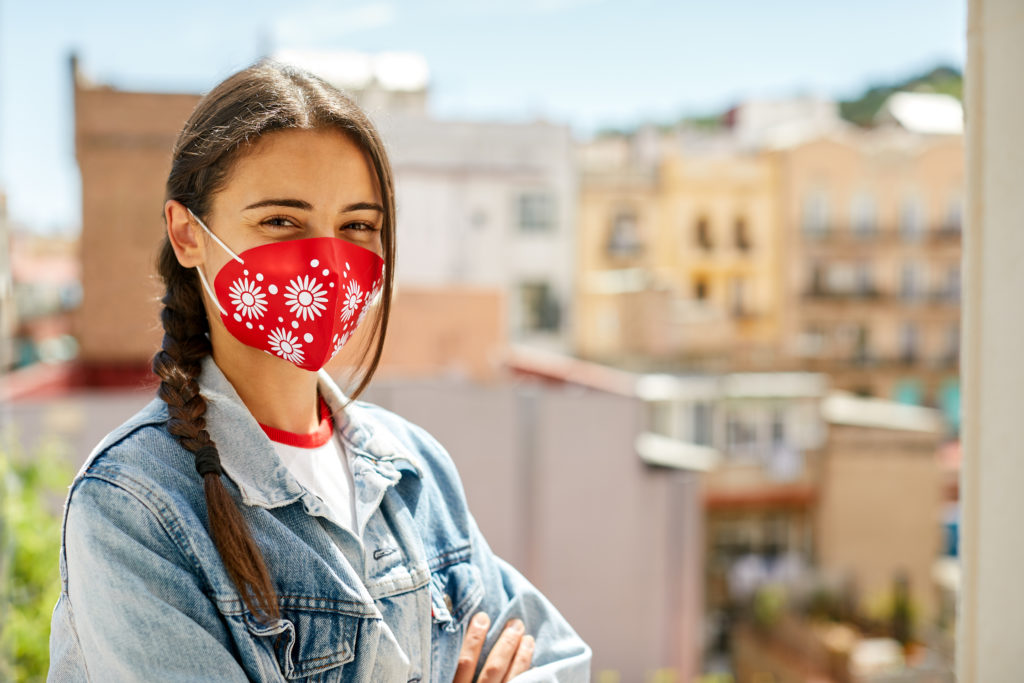 Why wearing a mask and breathing in less coronavirus probably means you get less sick
