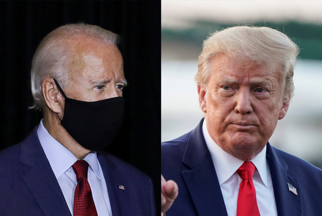 More Americans trust Biden than Trump to handle the pandemic