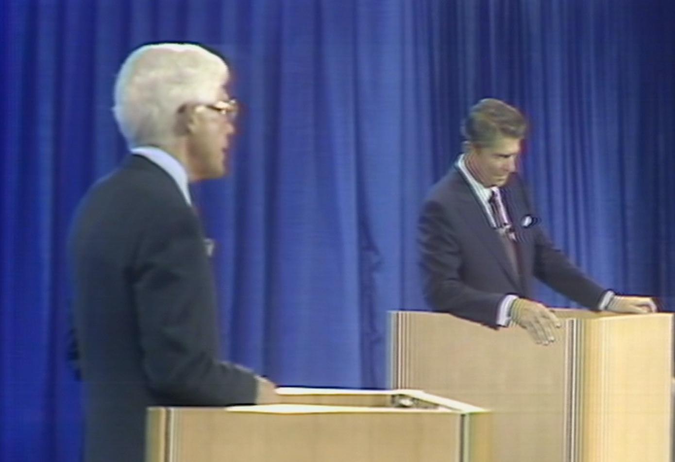 Anderson vs. Reagan: The first 1980 presidential debate