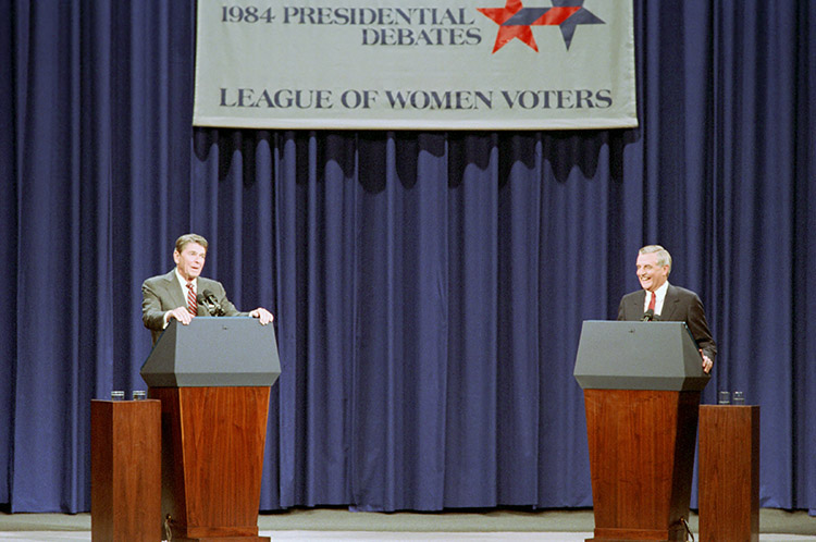 Reagan vs. Mondale: The second 1984 presidential debate