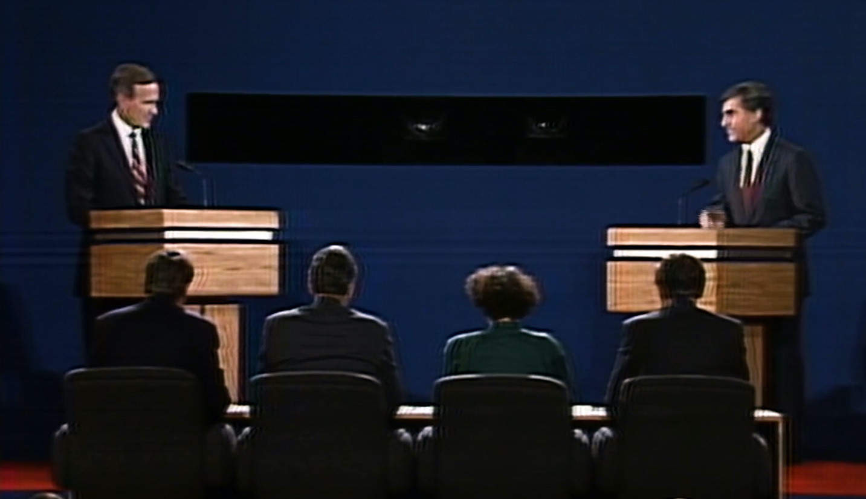 Bush vs. Dukakis: The first 1988 presidential debate