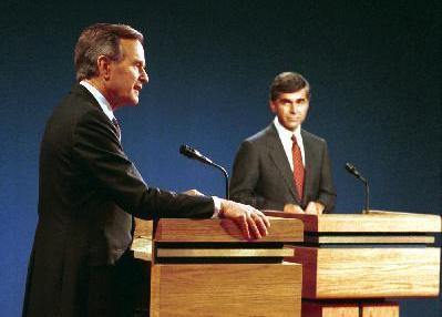 Bush vs. Dukakis: The second 1988 presidential debate