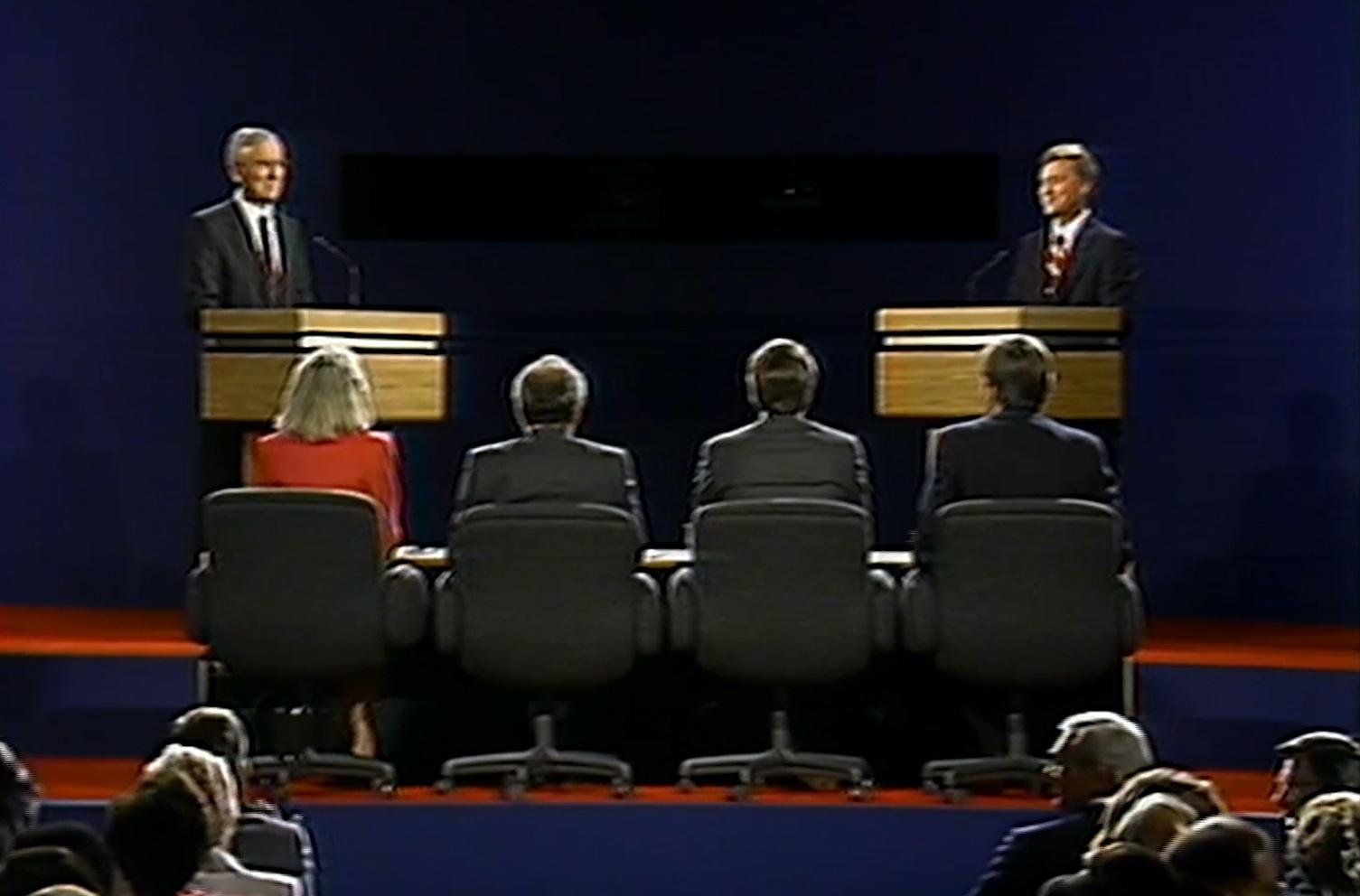 Bentsen vs. Quayle: The 1988 vice presidential debate